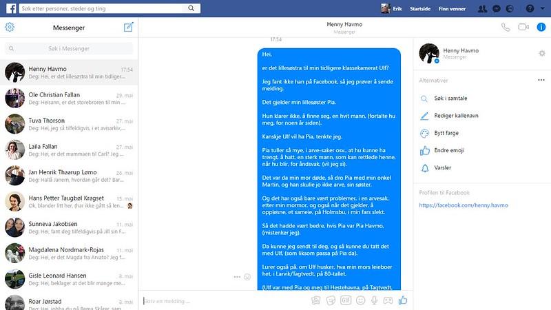 henny havmo facebook 2