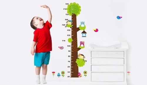 phát triển chiều cao cho bé