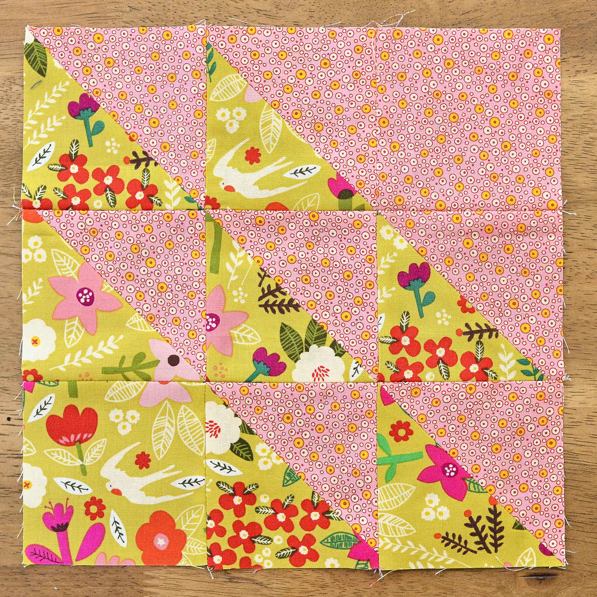 The Fussy Cut Sampler QAL Block 26