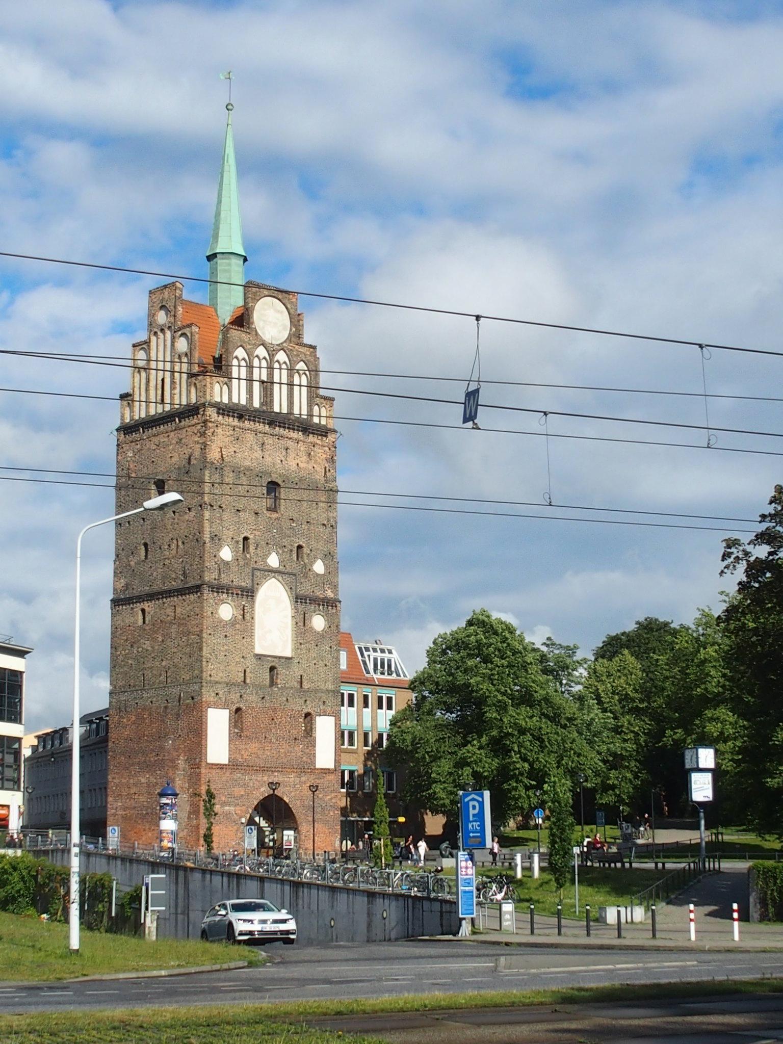 Rostock stadsmurstorn