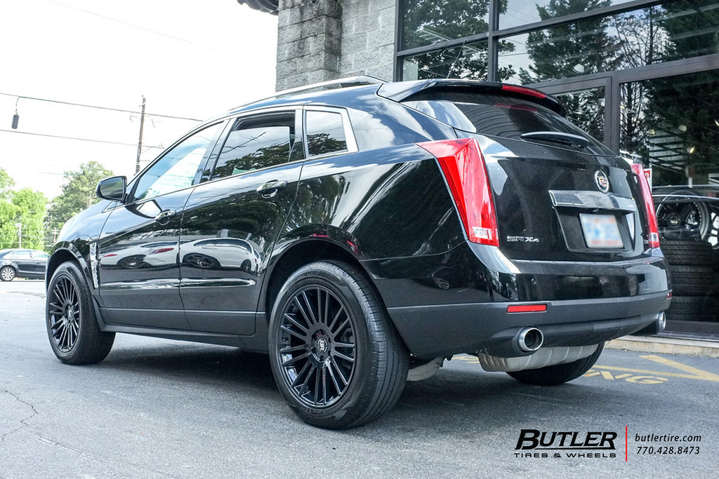 Cadillac Srx With 20in Black Rhino Kruger Wheels View