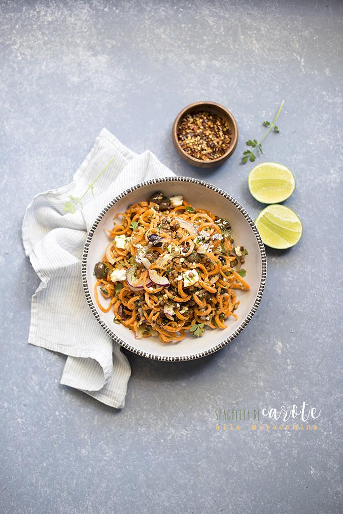 insalata carote marocchina