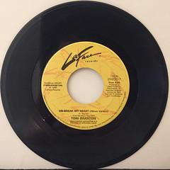 TONI BRAXTON:UN-BREAK MY HEART(RECORD SIDE-A)