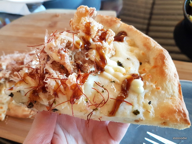 Chicken Karaage Pizza