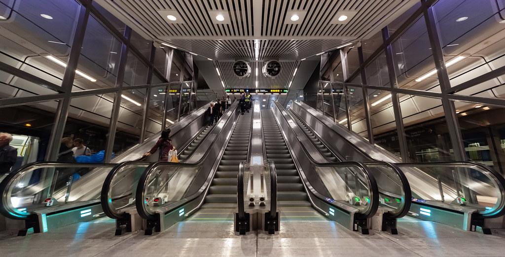 Stockholm City Station The New Station Stockholm City On T Flickr