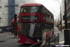 Wrightbus NRM NBFL - LTZ 1019 - LT19 - Pimlico 24 - Metroline - London 2017 - Steven Gray - IMG_8255