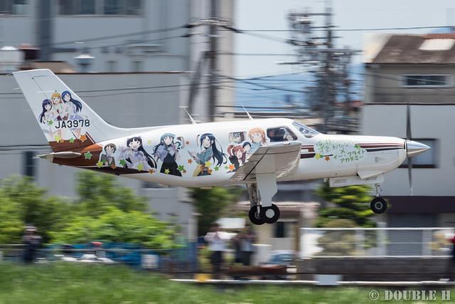 痛飛行機 - Anime wrapping airplane in RJOY 2017.6.4 (22)