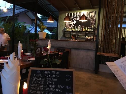 今日のサムイ島 6月15日 予約必須 イタリアンレストラン