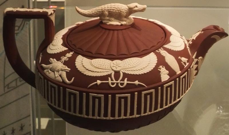 エジプト神ティーポット セベク神 ウェッジウッドミュージアム Sobek