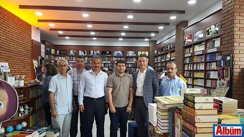 Alanya İlçe Milli Eğitim Müdürü Hüseyin Er, İşler Akademi'yi ziyaret etti.