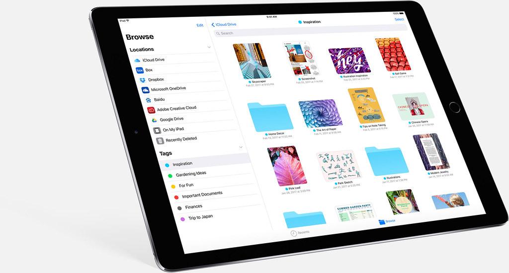 2_Files iOS 11 iPad