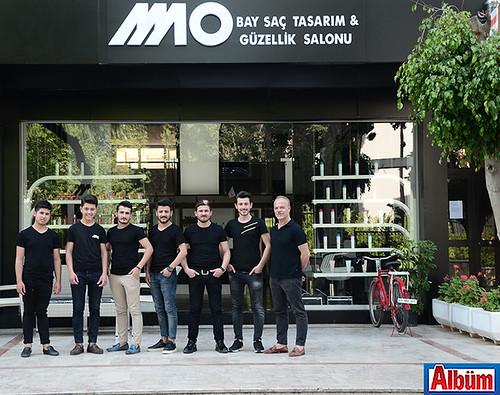 MO Bay Saç Tasarım & Güzellik Salonu ekibi