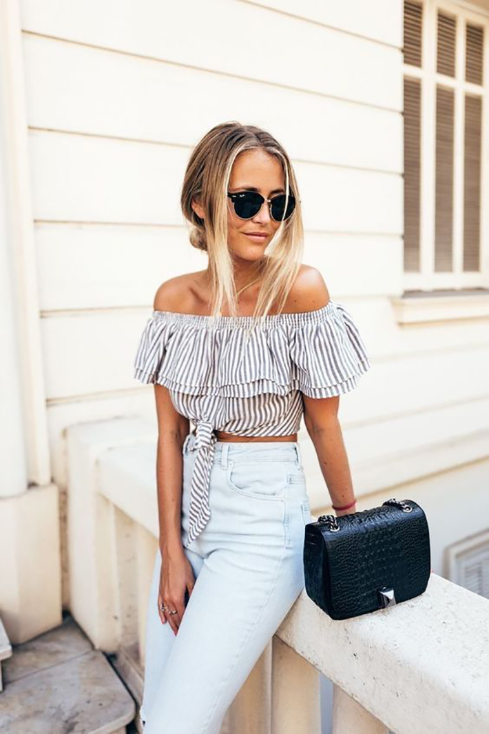 how to wear ruffles summer 2017 street style outfits fashion trend8