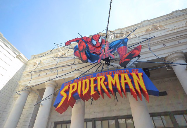 universal studios japan amazing spiderman ride