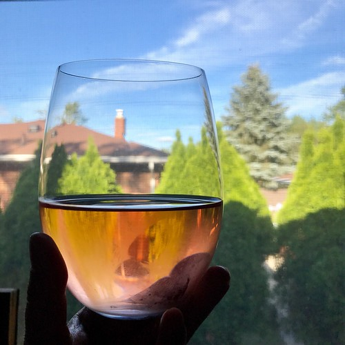 rosé on a summer day - happy summer solstice!