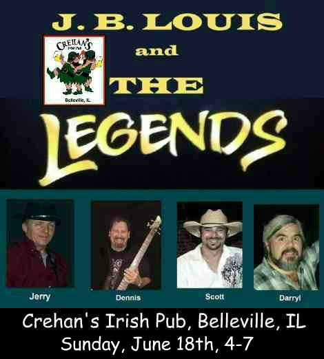 J.B. Louis and The Legends 6-18-17