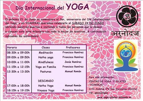 Yoakekai Día Mundial del Yoga