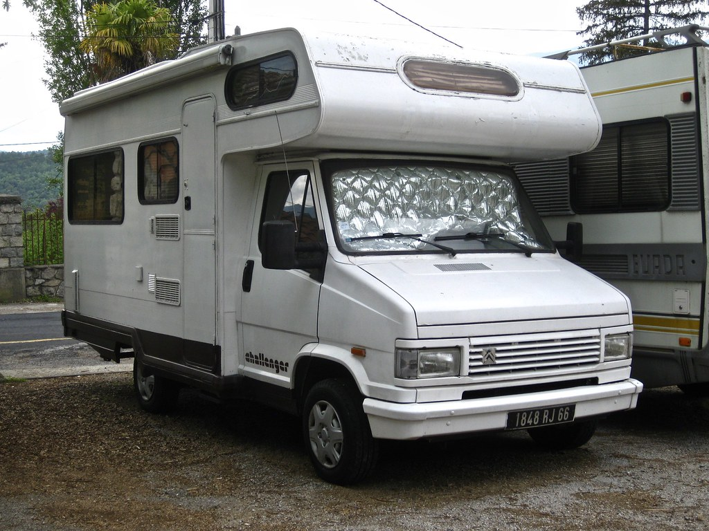 1990 citro n c25 phase ii challenger camping car the c25 h flickr. Black Bedroom Furniture Sets. Home Design Ideas