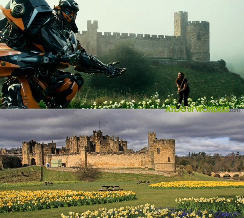 Castillo en Transformers
