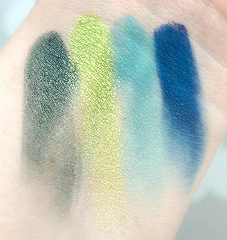 Urban Decay Tenant swatches