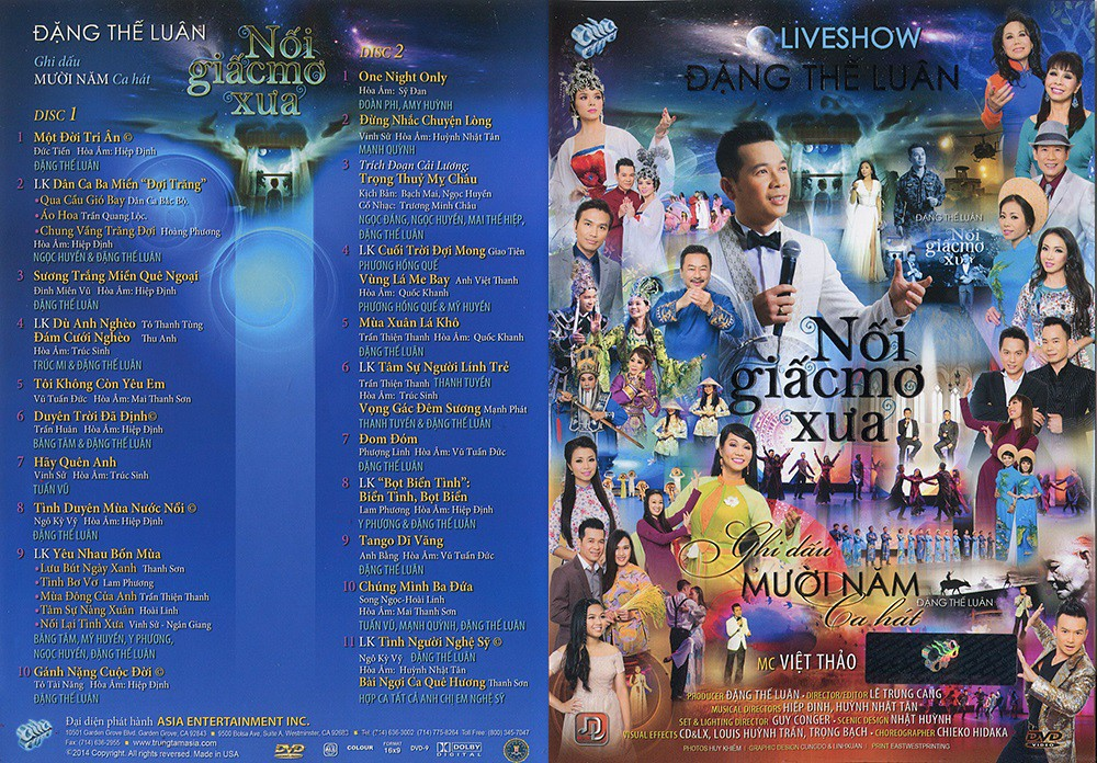 LiveShow Đặng Thế Luân- Nối Giấc Mơ Xưa - 2/2DVD9