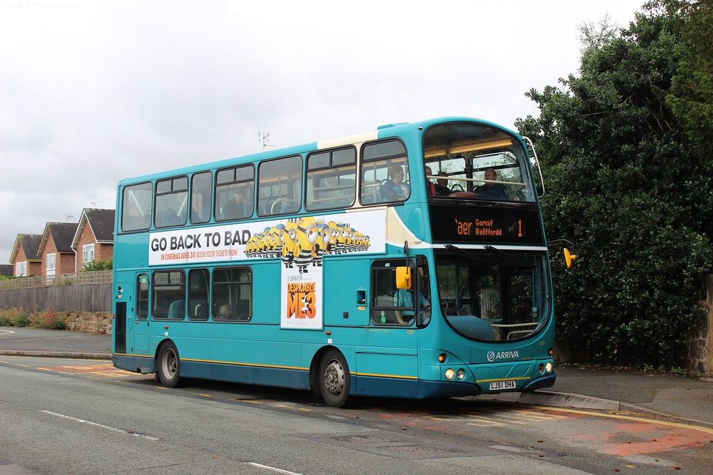 Arriva Buses Wales - LJ51DHA, 4209   Here in this photograph…   Flickr