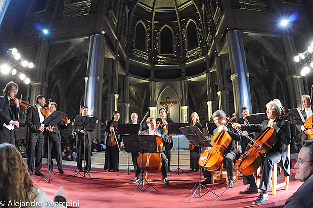 Camerata Bariloche en la Catedral de Bariloche