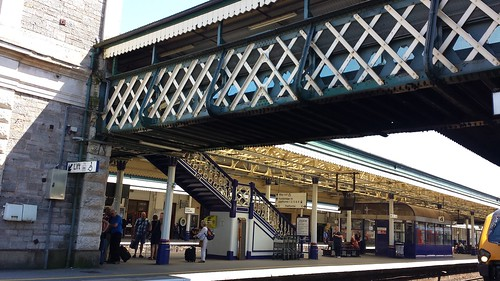 Exeter St. David's train station
