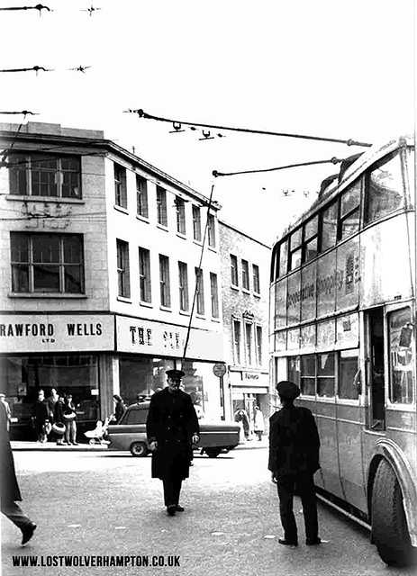 The Darlington Street, Waterloo Road and School Street, Junction circa 1963