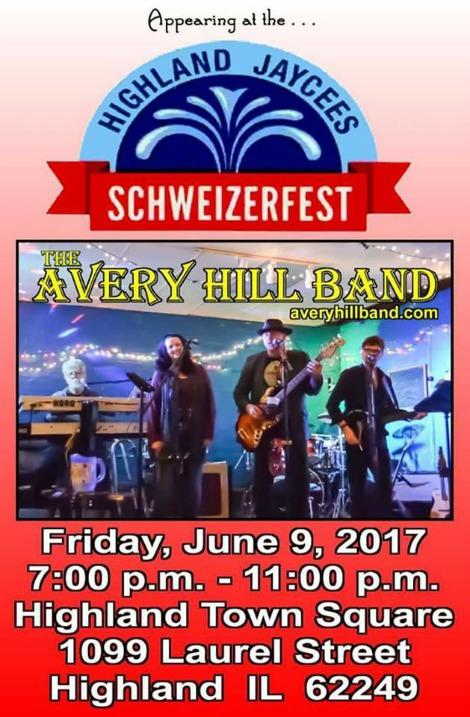 Avery Hill Band 6-9-17
