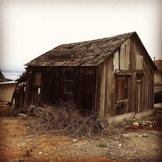 Old timey shed