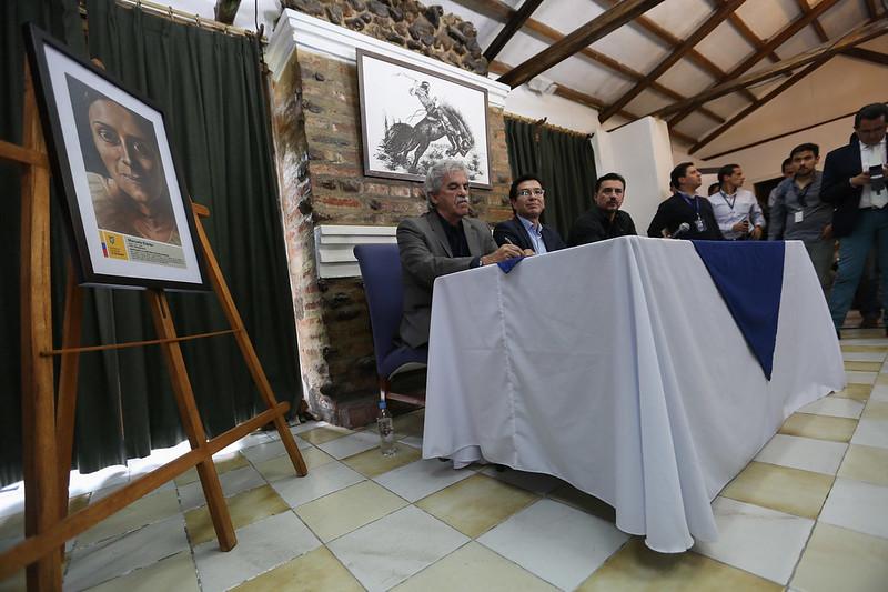 Rueda de prensa- retratos de personajes históricos lucirán en entidades públicas