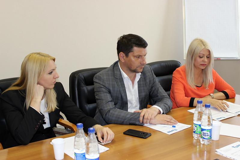 Евгения Игнатова, Андрей Филин (АРИА-АиФ), Алла Игнатьева, руководитель рабочей группы АРПП