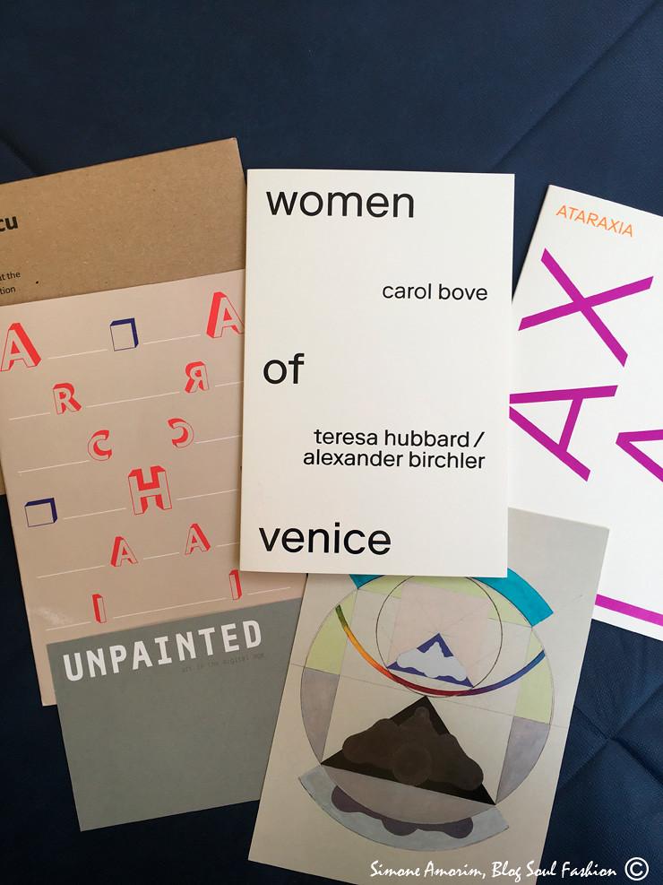 Alguns dos vários convites que recebi para a Vernice da Biennale di Venezia 2017