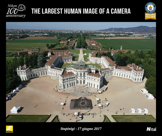 Nikon biggest human camera Guinness Book of World Records