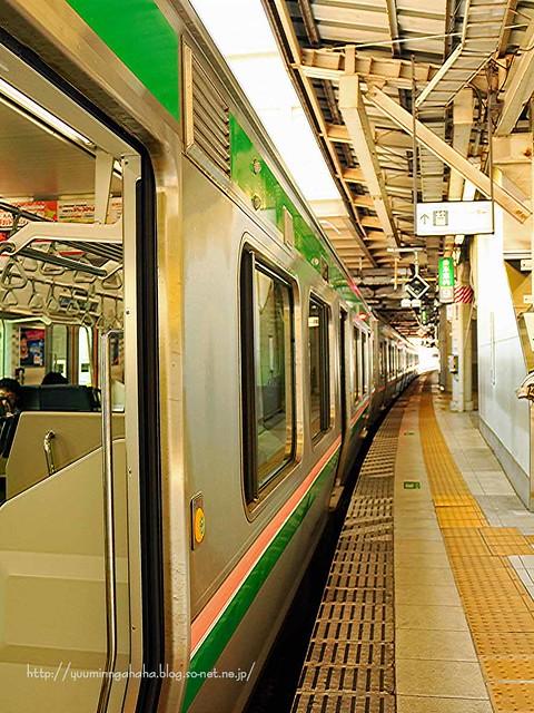 帰省 仙台駅