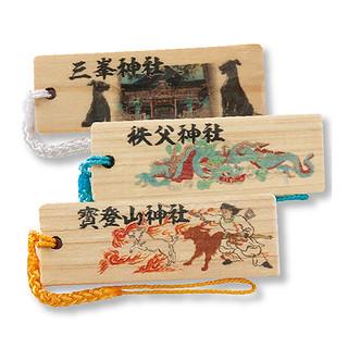 オリジナル木札ストラップ