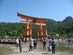 Torii on Miyajima, Hiroshima