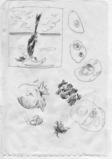 Sketchbook #104: Ocean Shore Treasures