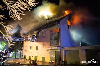 Gebäudebrand Boelckestraße 18.06.17