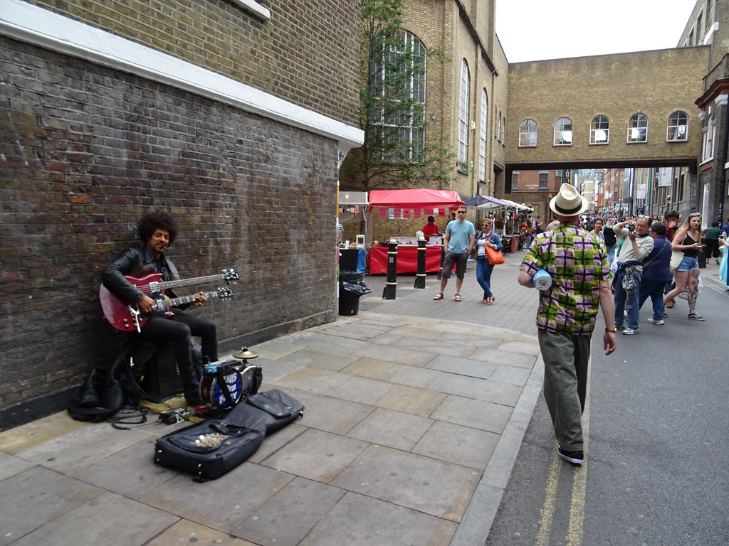 The Line Art Walk London : I walk the line brick lane london. alan james flickr