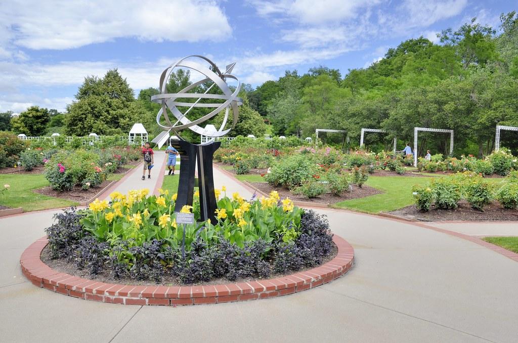 Rose Garden | The Lauritzen Gardens, formerly the Omaha Bota… | Flickr