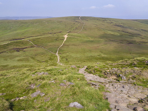 Mill Hill from Kinder's edge