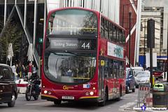 Volvo B7TL Wright Eclipse Gemini - LX06 EAK - WVL247 - Go Ahead London - Tooting Station 44 - London 2017 - Steven Gray - IMG_9440