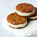 Grain-free Chocolate Chip Cookie Banana Ice Cream Sandwiches