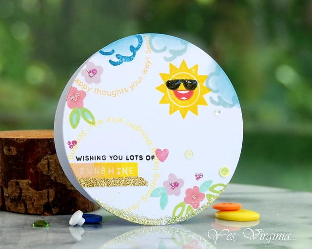 wishing you lots of sunshine