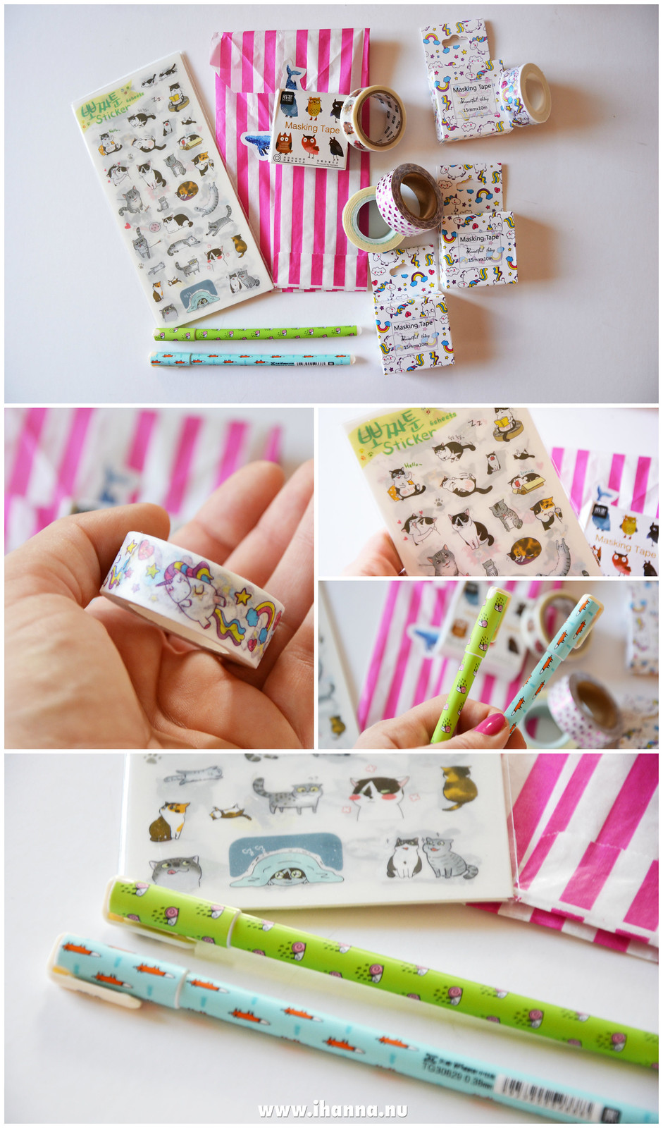 Cute Stuff Etsy Haul, video and blog post by @ihanna #stationary #etsy