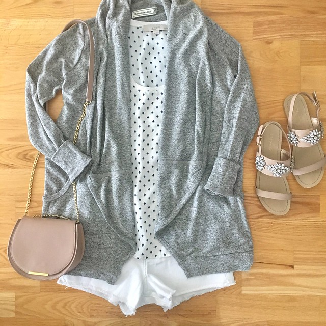 Abercrombie Outfit Flatlay