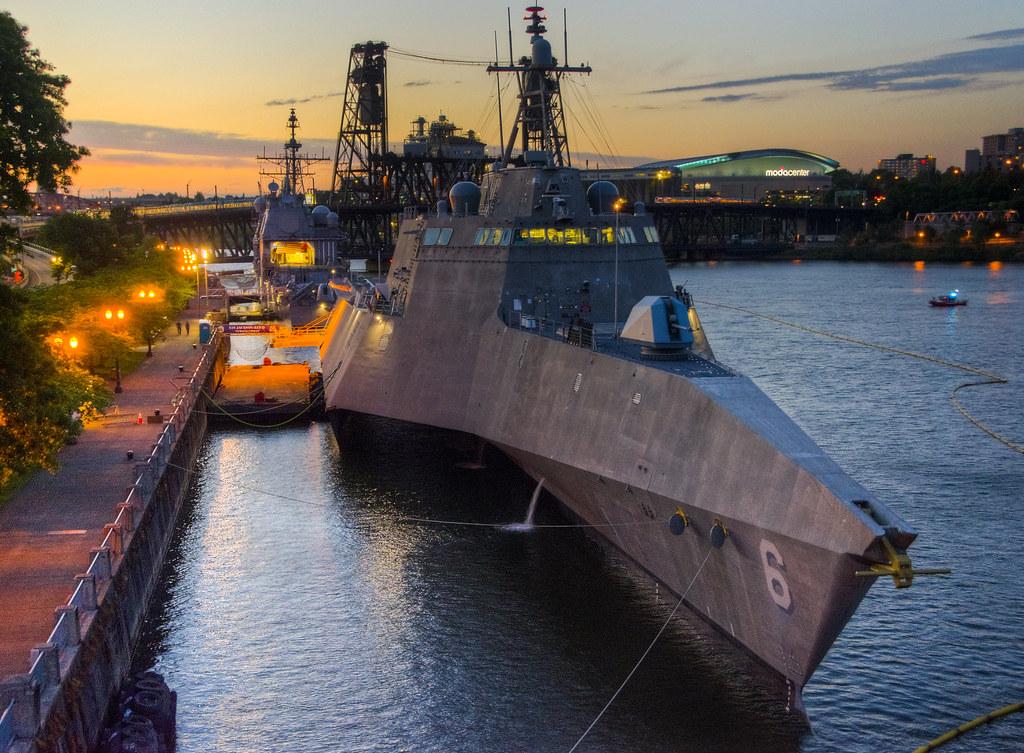USS Jackson Visits Portland