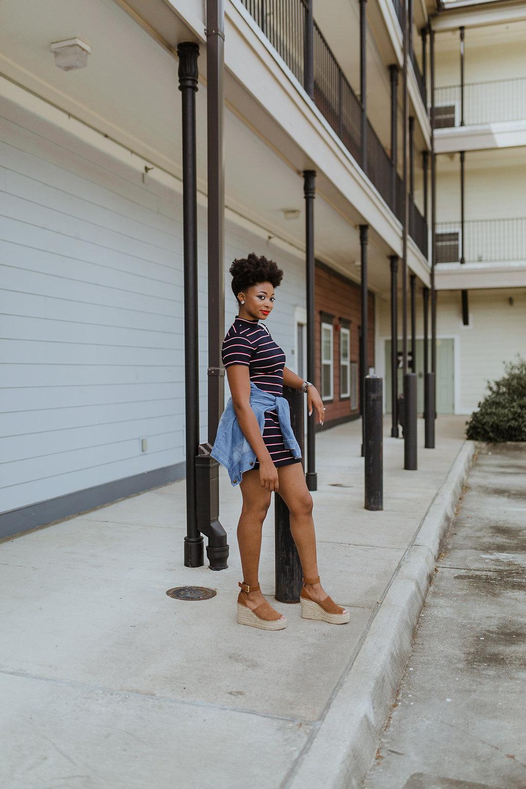 natural hair fashion blogger, the beauty beau